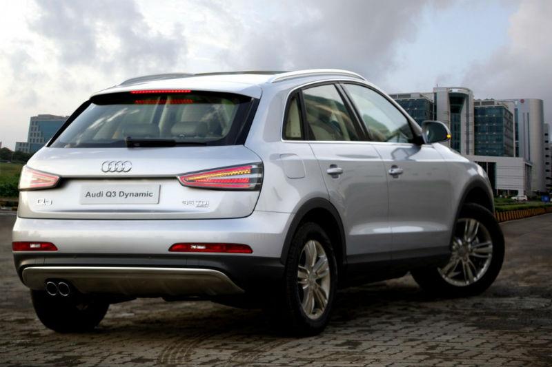 Audi Q3 Dynamic Back View
