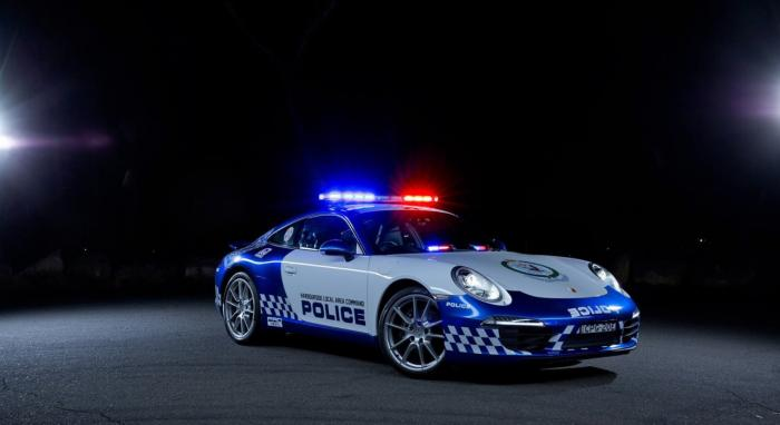Australia Receives Porsche 911 Carrera For New South Wales Police