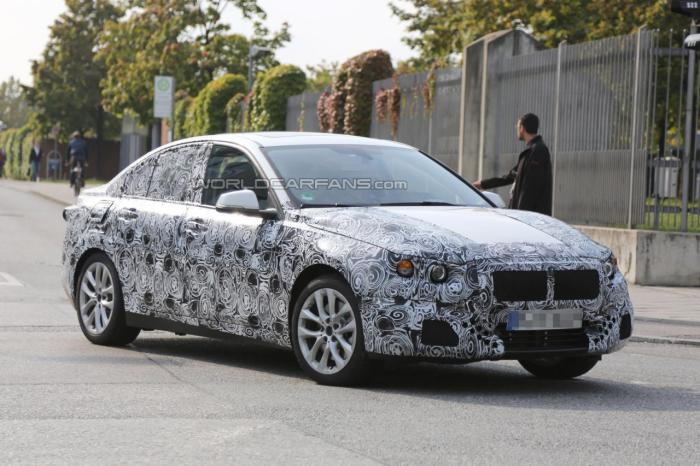 BMW 1-Series Sedan Spied For First Time