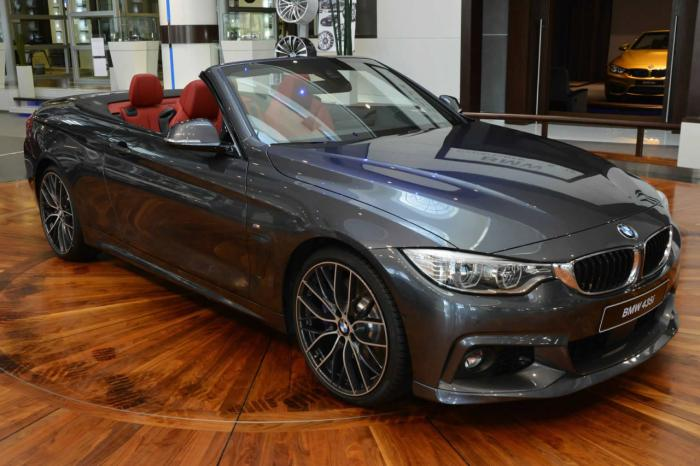 BMW 4-Series Convertible With M And AC Schnitzer Parts At Abu Dhabi Dealership