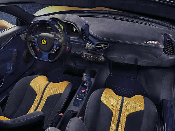 Ferrari 458 Speciale A Limited Edition Revealed interiors