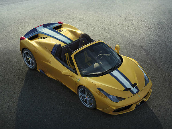 Ferrari 458 Speciale A Limited Edition Revealed
