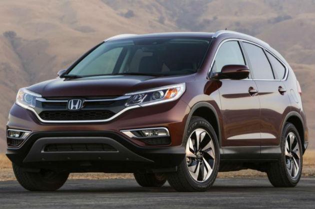 Honda CR-V Facelift Leaked