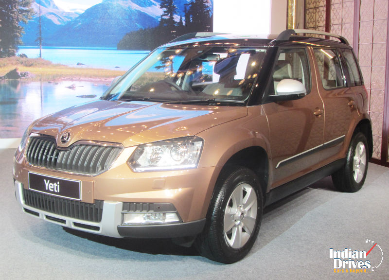 Skoda Yeti Facelift Launched In India