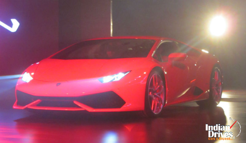 Lamborghini Huracan Launched In India
