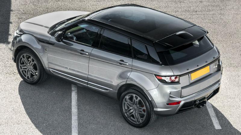 Kahn Design Range Rover Evoque Back View
