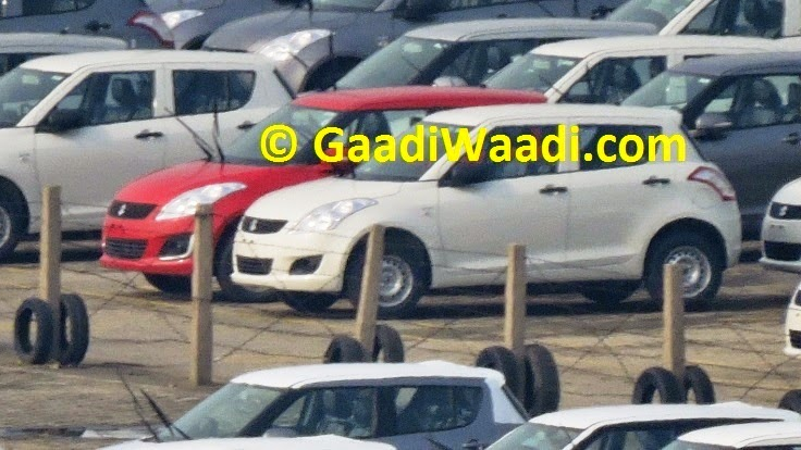 Maruti Swift Facelift Spotted