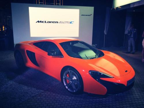 McLaren 625C Officially Revealed