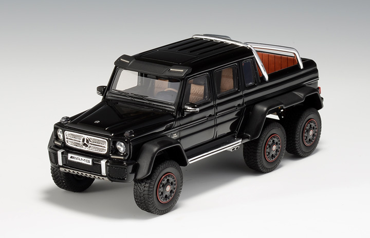 Mercedes-Benz G63 AMG 6x6 Scale Model Is Here