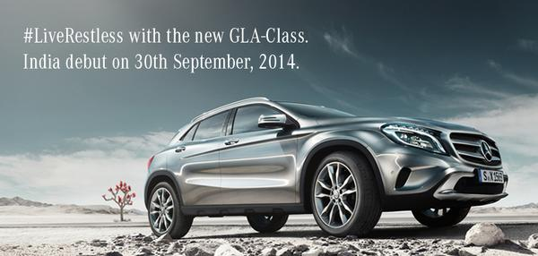 Mercedes-Benz GLA India Launch On September 30 Details Revealed