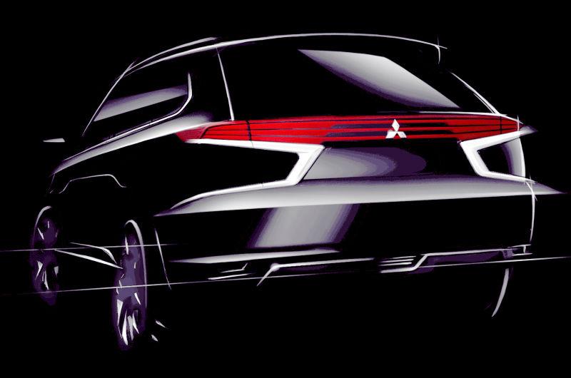 Mitsubishi Teases Back View