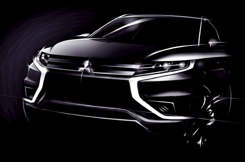 Mitsubishi Teases New Outlander PHEV Concept-S