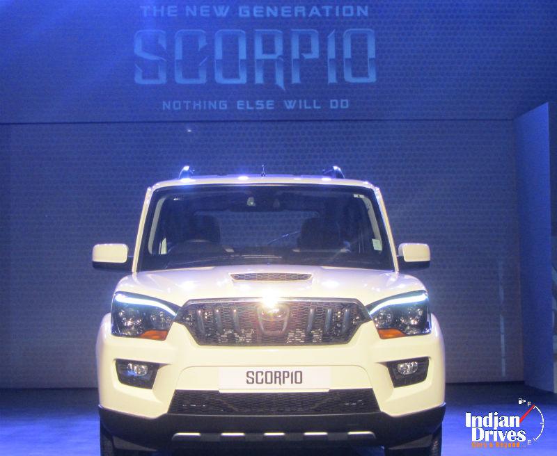 New Generation Mahindra Scorpio Launched