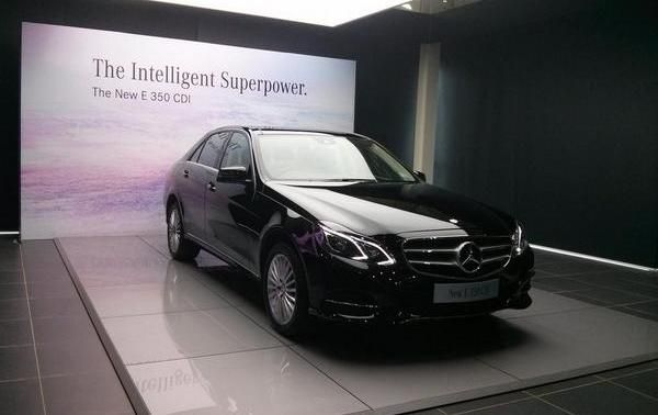 New Mercedes-Benz E350 CDI Diesel Launched In India For Rs 57.42 Lakh