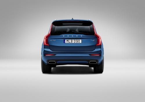New Volvo XC90 R-Design Unveiled Back View