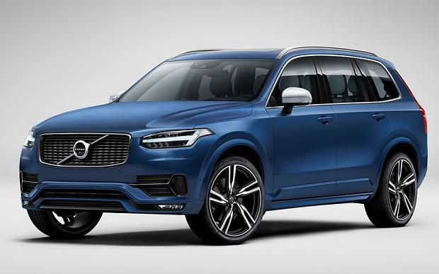 New Volvo XC90 R-Design Unveiled