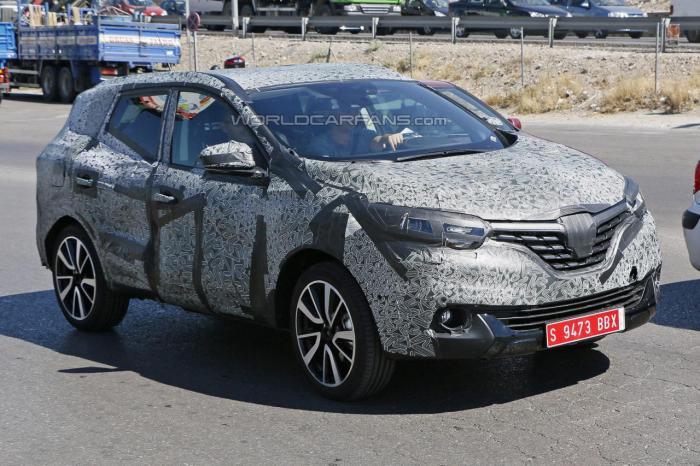 Next-Gen All New Renault Koleos Spied Testing