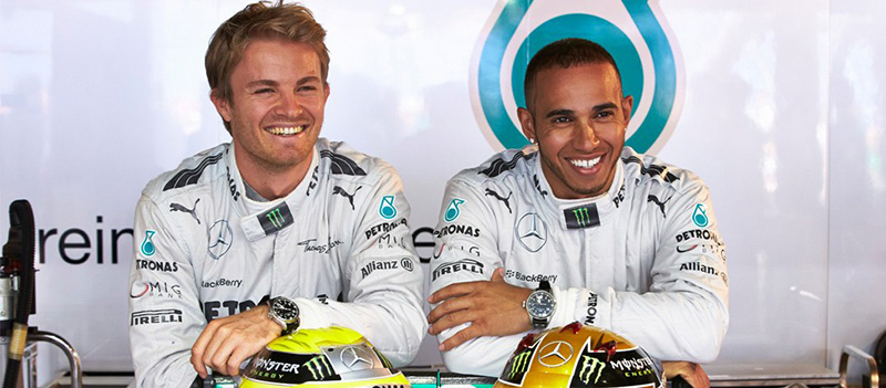 Nico Rosberg And Lewis Hamilton Launched IWC Ingenieur Chronograph Limited Edition Watches