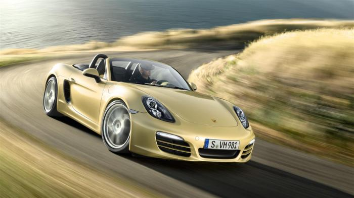 Porsche 211PS Powered Boxster Leaked