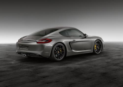 Porsche Cayman S Back View