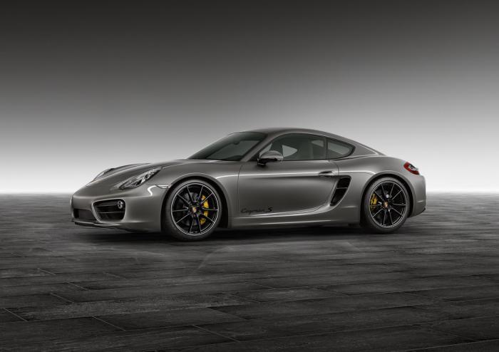 Porsche Exclusive Agate Grey Cayman S Unveiled