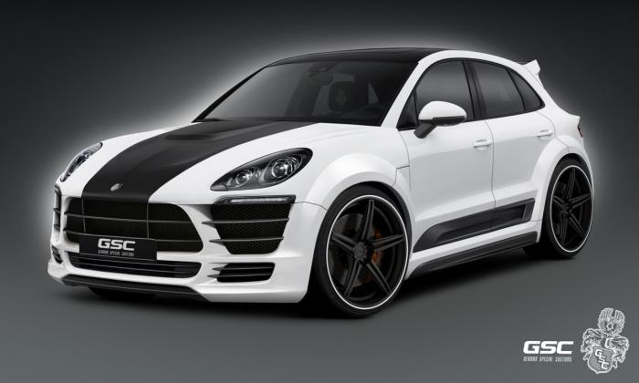 Porsche Macan Gets Treatment From German Special Customs