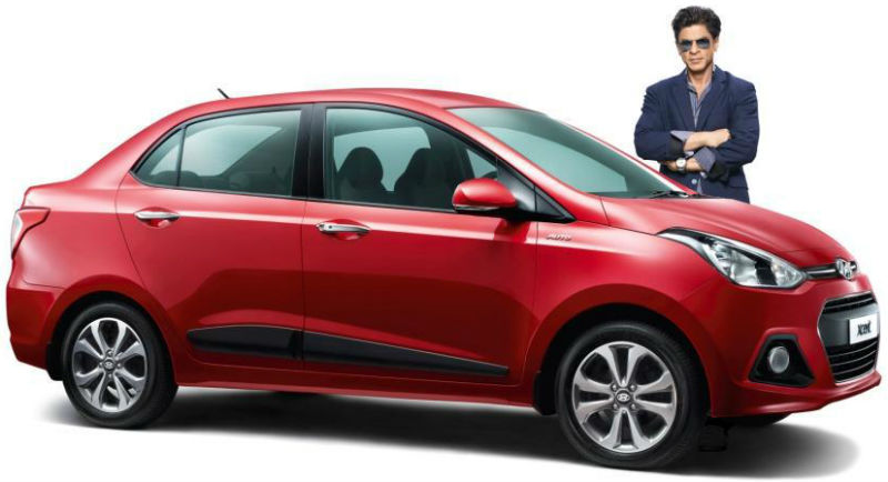 Shah Rukh Khan Roped In As Brand Ambassador For Hyundai Xcent