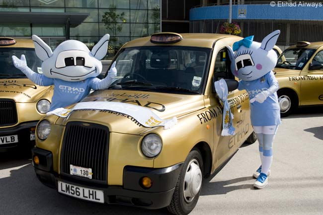 Shanghai's New Golden Cabs Are Copied From London Black Cabs