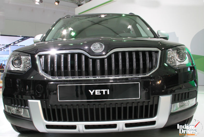 Skoda Yeti Facelift Details Revealed