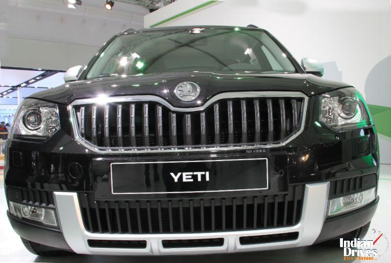 Skoda Yeti Facelift Details Revealed