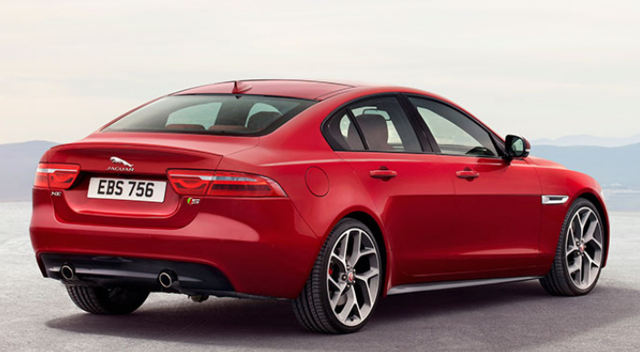 Jaguar XE Unveiled Back View