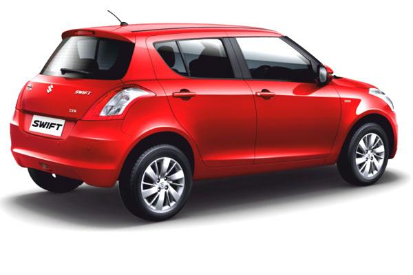 Maruti Swift Facelift Back View