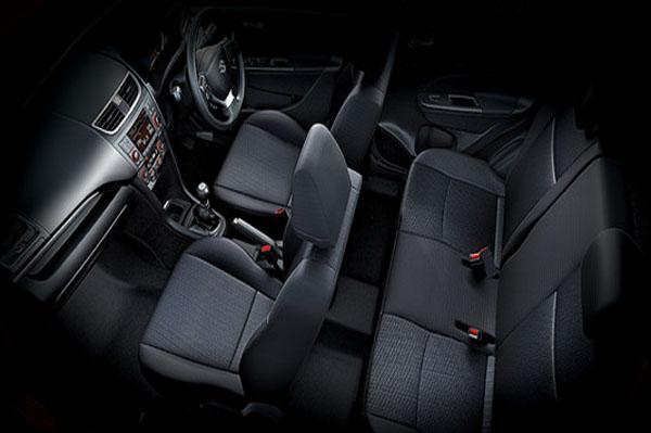 Maruti Swift Facelift interiors