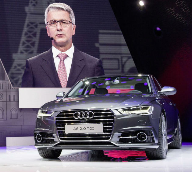 2015 Audi A6 Debuts At Paris Motor Show