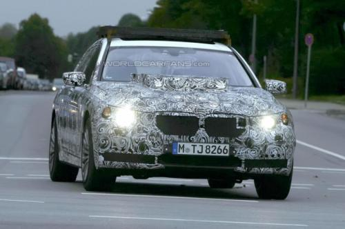 BMW X7 Spied Testing For The First Time