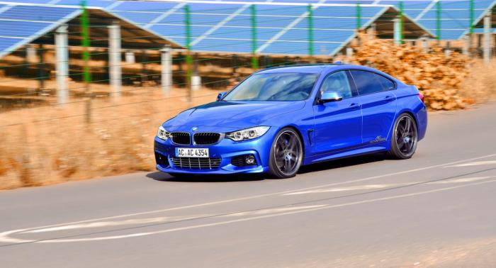 AC Schnitzer Tuning Program For BMW 4-Series GranCoupe Detailed