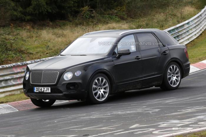 Bentley SUV Spotted On Nurburgring In Germany
