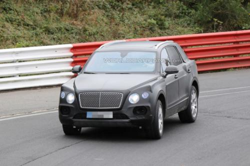 Bentley SUV Spotted On Nurburgring