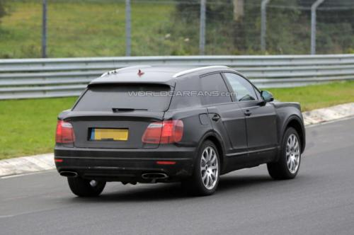 Bentley SUV Spotted