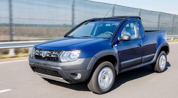 Dacia Duster Pickup Officially Unveiled, Only For OMV Petrom