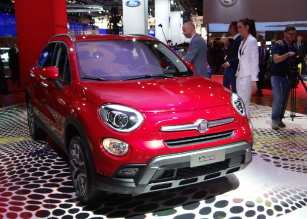 Fiat 500X Compact Crossover/SUV Unveiled At Paris Motor Show 2014