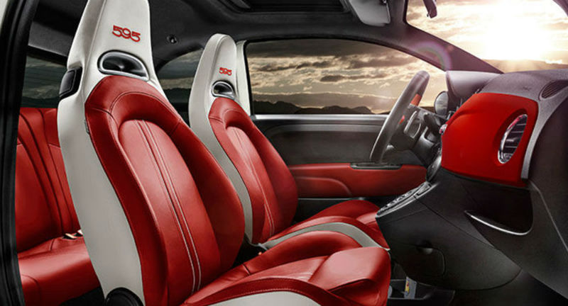 Fiat Launches Abarth 595 interiors