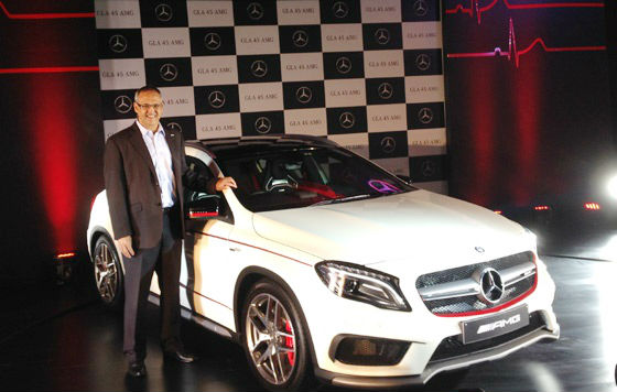 Mercedes-Benz GLA 45 AMG Launched In India