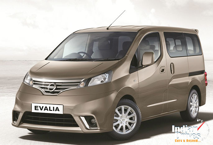 Nissan Evalia Special Variant Launched
