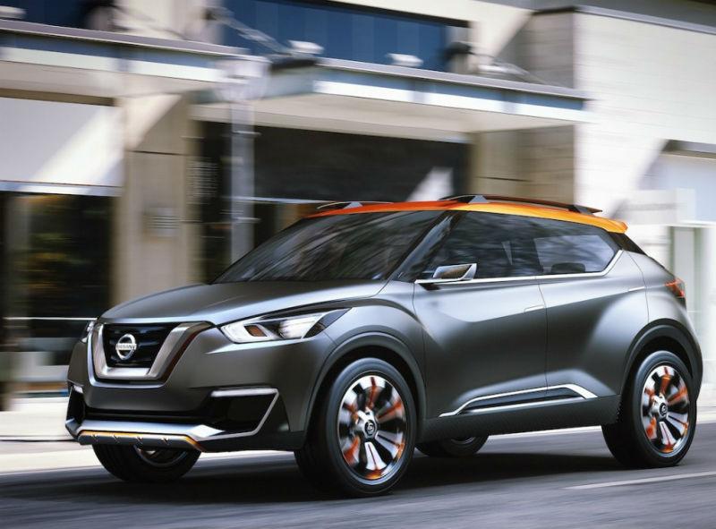 Nissan Kicks Compact SUV Concept