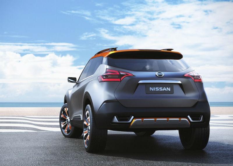 Nissan Kicks Concept Rear View