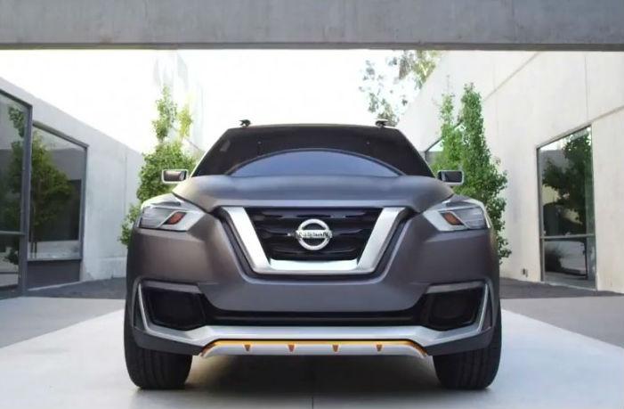 Nissan Kicks Concept Front View