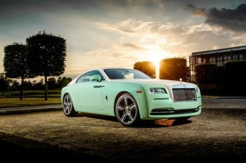 Rolls-Royce Wraith In Lime Green Commissioned For Michael Fux