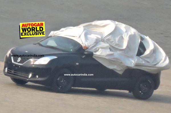 Maruti YRA Hatchback Spied Testing To Take On Hyundai Elite i20