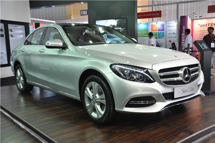 New Mercedes-Benz C-Class Showcased In India